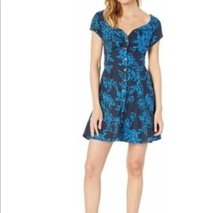 Free People A Thing Called Love Mini Dress XS